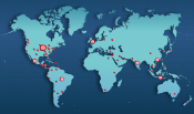 Enercon has strategically located its sales and service network to provide prompt support around the world.