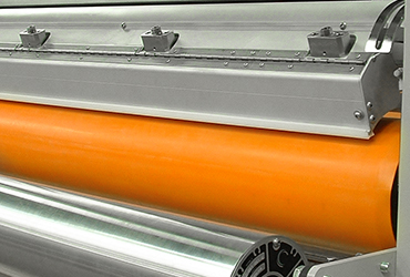Covered Roll Corona Treater