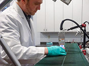 Lab Testing Surface Treatment